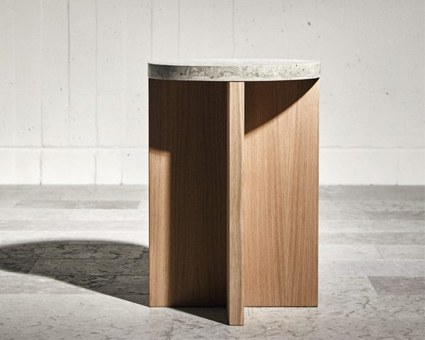 Haymoz side table oak