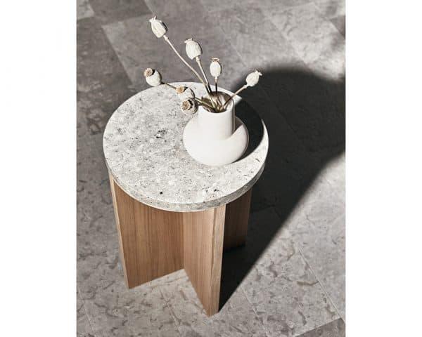Haymoz side table oak